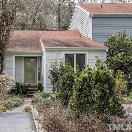 Rent this 2 bed townhouse on 5827 Branchwood Road in Raleigh, NC 27609