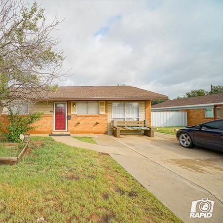 Rent this 3 bed house on 1219 Pueblo Street in Odessa, TX 79761