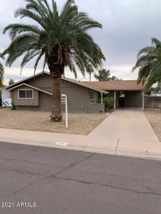 Rent this 3 bed house on 8225 East Sells Drive in Scottsdale, AZ 85251