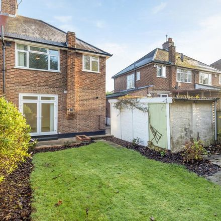Rent this 3 bed house on West Hallowes in London SE9 4EX, United Kingdom