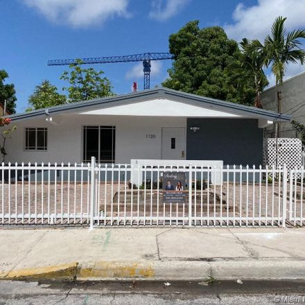 Rent this 3 bed house on 1120 Southwest 3rd Avenue in Miami, FL 33130