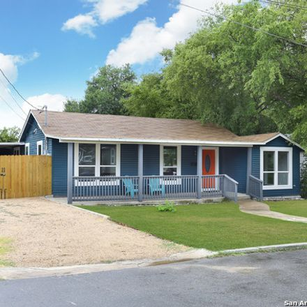 Rent this 4 bed house on 1318 Delaware Street in San Antonio, TX 78210