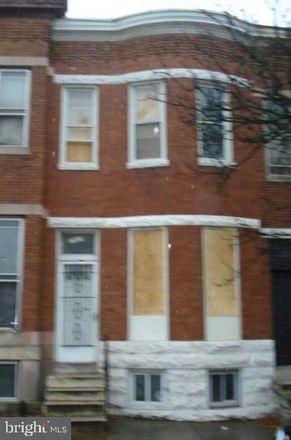 Rent this 3 bed townhouse on 1937 West Mulberry Street in Baltimore, MD 21223