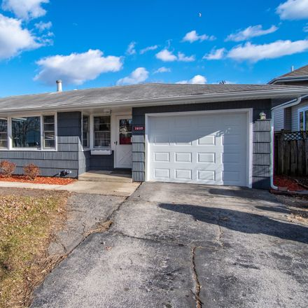 Rent this 3 bed house on 3609 Peoria Street in Steger, IL 60475