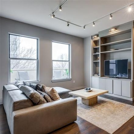 Rent this 2 bed condo on North Houston Street in Dallas, TX 75202