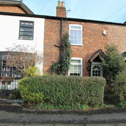Rent this 2 bed house on Brickkiln Row in Trafford WA14 3EL, United Kingdom