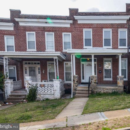 Rent this 3 bed townhouse on 1016 North Rosedale Street in Baltimore, MD 21216