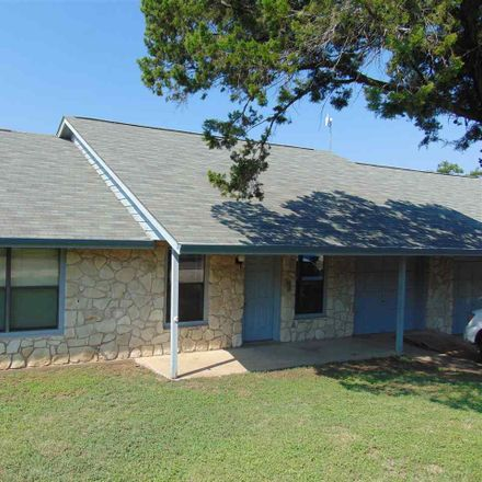Rent this 3 bed duplex on 1000 Loma Lane in Marble Falls, TX 78654
