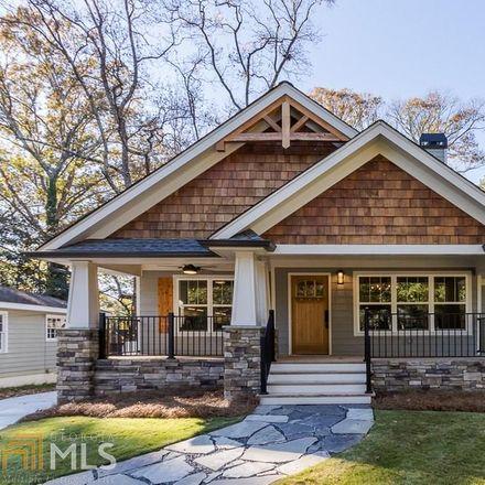 Rent this 4 bed house on Bristol Dr NE in Atlanta, GA