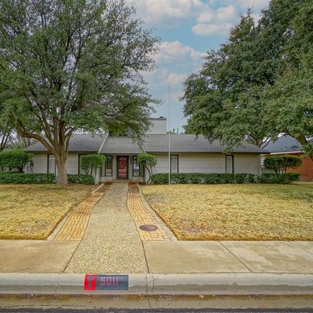 Rent this 4 bed house on 5011 Castleford Road in Midland, TX 79705