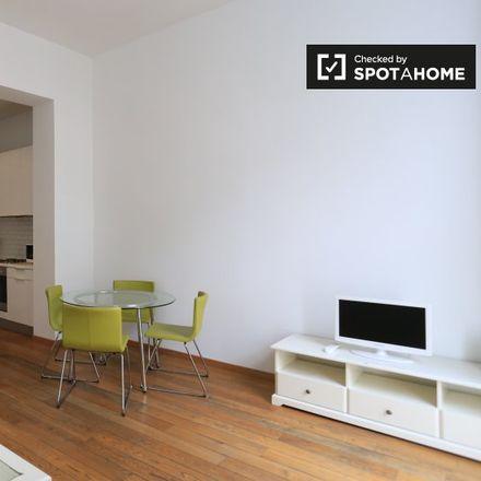Rent this 1 bed apartment on Rue Berckmans - Berckmansstraat 98 in 1060 Saint-Gilles - Sint-Gillis, Belgium