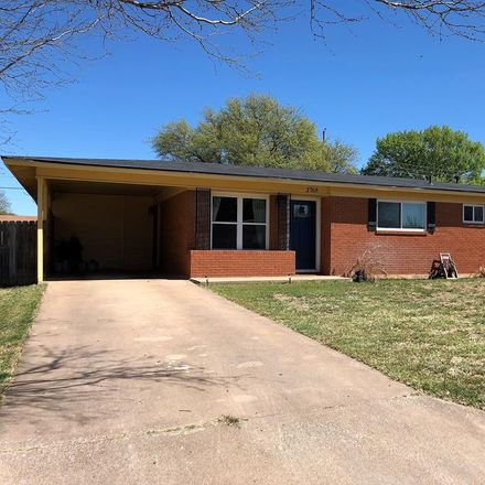 Rent this 3 bed apartment on 2768 University Avenue in San Angelo, TX 76904
