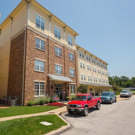 Rent this 2 bed apartment on 420 West Washington Avenue in Kirkwood, MO 63122