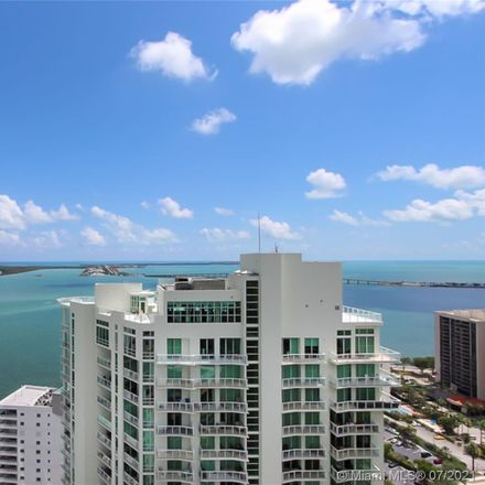 Rent this 3 bed condo on Brickell House in 1300 Brickell Bay Drive, Miami