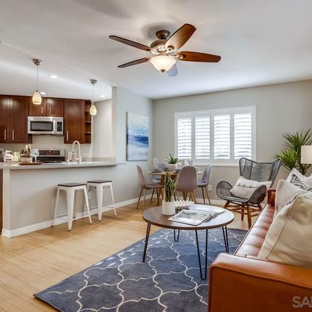 Rent this 1 bed townhouse on 7565 Charmant Drive in San Diego, CA 92161