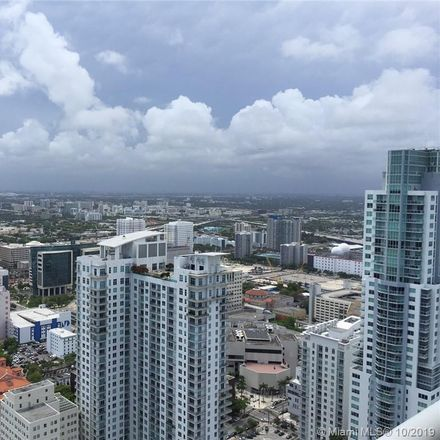 Rent this 1 bed condo on Biscayne Blvd in Miami, FL