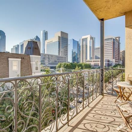 Rent this 1 bed condo on 2300 Leonard Street in Dallas, TX 75201
