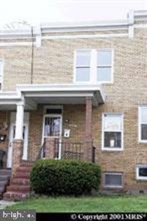 Rent this 2 bed townhouse on 4102 Eierman Avenue in Baltimore, MD 21206