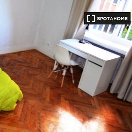 Rent this 9 bed apartment on Paseo del Marqués de Monistrol in 28001 Madrid, Spain