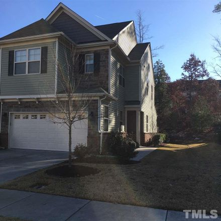 Rent this 3 bed townhouse on 319 Scotlow Way in Cary, NC 27560