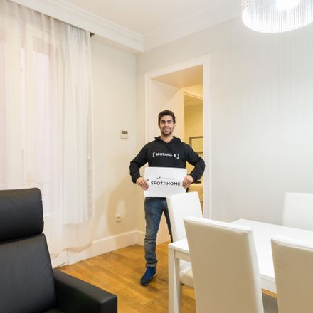 Rent this 3 bed apartment on Main Square in 28001 Madrid, Spain