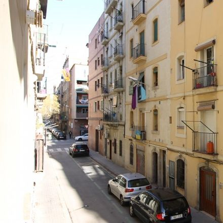 Rent this 1 bed apartment on Carrer de l'Atlàntida in 08 Barcelona, Spain