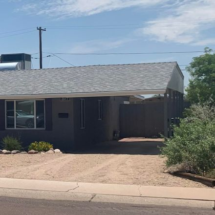 Rent this 3 bed house on 2017 East Orange Street in Tempe, AZ 85281