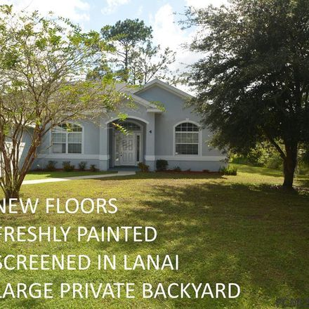 Rent this 3 bed apartment on 4 Prince Michael Lane in Palm Coast, FL 32164