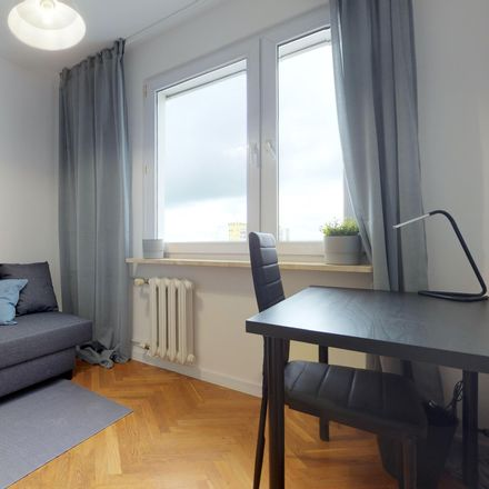 Rent this 4 bed room on Marii Dąbrowskiej 21 in 01-903 Warsaw, Poland