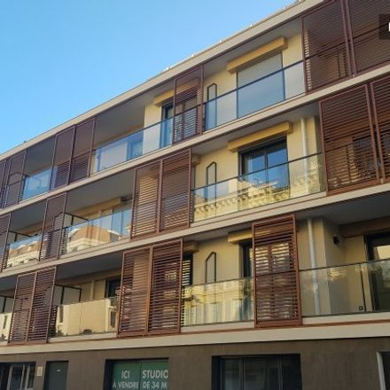 Rent this 2 bed apartment on 25 Rue Édouard Beri in 06000 Nice, France