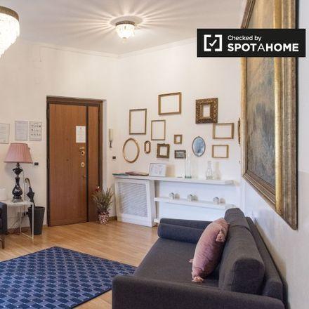 Rent this 3 bed apartment on Chiesa di San Cosimato in Via Natale Del Grande, 00153 Rome RM