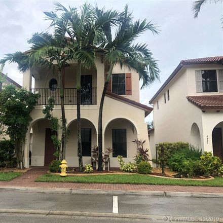 Rent this 4 bed house on 8441 Northwest 38th Street in Cooper City, FL 33024