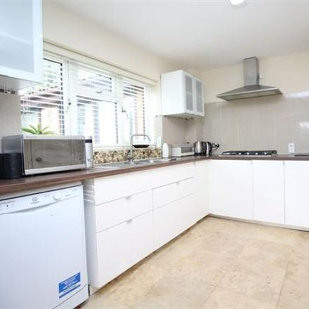 Rent this 4 bed house on Thirsk Gardens in Far Bletchley MK3 5LH, United Kingdom