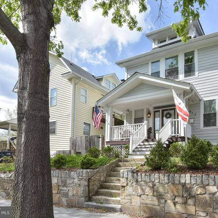 Rent this 4 bed house on 617 Webster Street Northwest in Washington, DC 20011