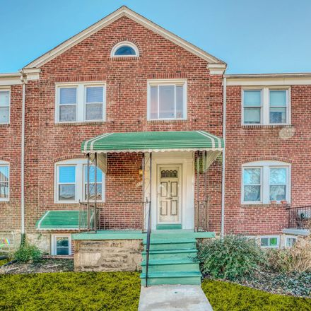 Rent this 3 bed townhouse on 1527 Northwick Road in Baltimore, MD 21218