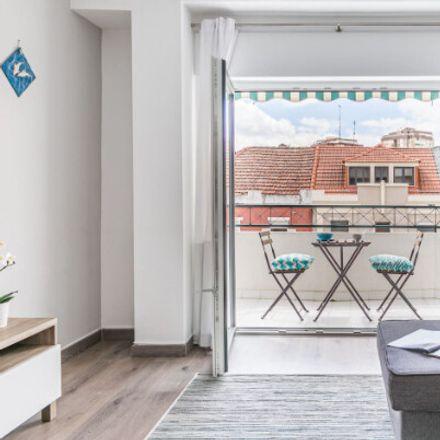 Rent this 1 bed apartment on R. Mte. Adrião in 2825-294 Costa da Caparica, Portugal