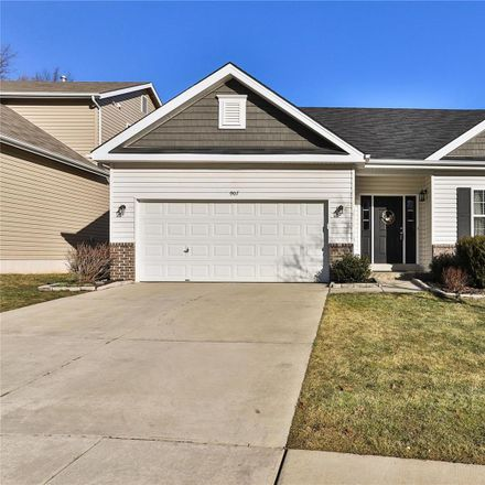 Rent this 4 bed house on Meramec Dr in Ballwin, MO