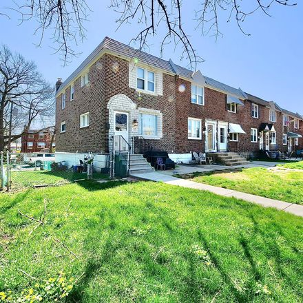 Rent this 3 bed townhouse on 720 Beech Ave in Glenolden, PA