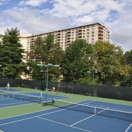 Rent this 1 bed condo on Promenade Tennis Club in 5225 Pooks Hill Road, Bethesda