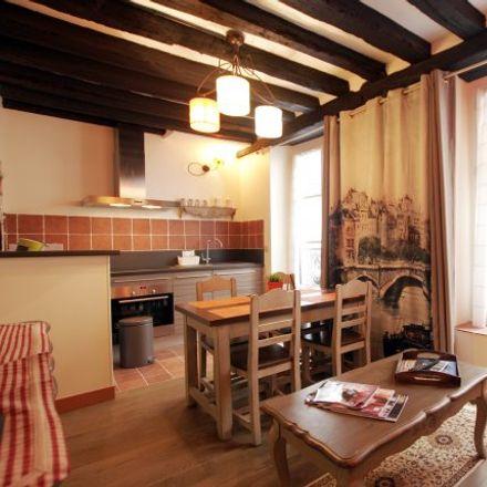 Rent this 1 bed apartment on 12 Rue de la Huchette in 75005 Paris 5e Arrondissement, France