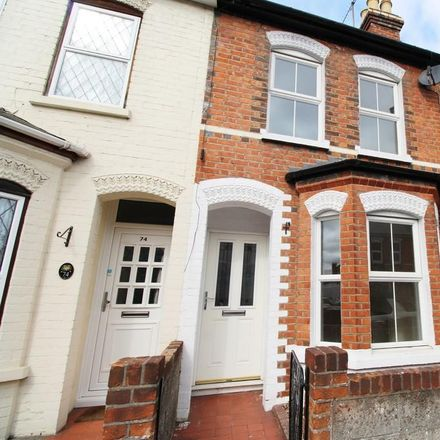 Rent this 2 bed house on 50 Belmont Road in Reading RG30 2UU, United Kingdom
