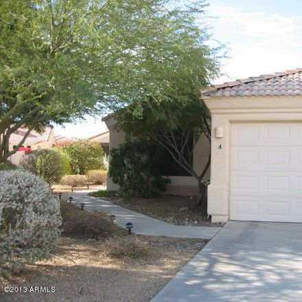 Rent this 2 bed apartment on 16827 East Mirage Crossing Court in Fountain Hills, AZ 85268