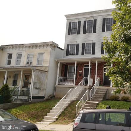 Rent this 3 bed house on 3520 Hickory Avenue in Baltimore, MD 21211