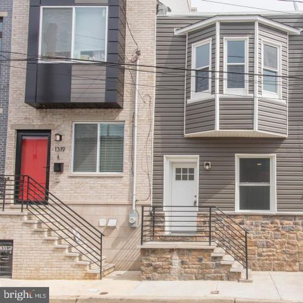 Rent this 2 bed townhouse on 1321 South Taylor Street in Philadelphia, PA 19146