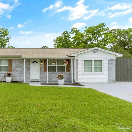 Rent this 3 bed house on Packwood Dr in Cantonment, FL