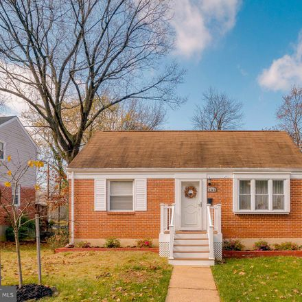 Rent this 4 bed house on 906 Olmstead Road in Pikesville, MD 21208