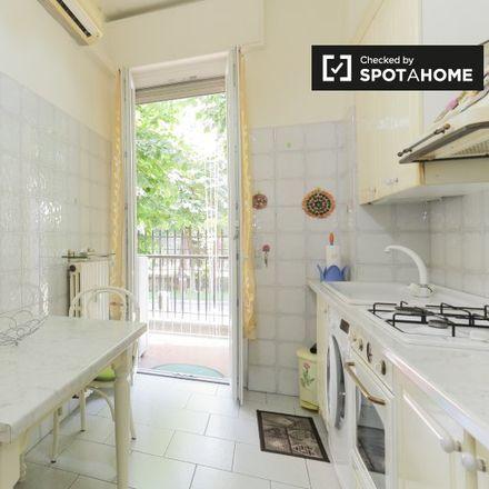 Rent this 1 bed apartment on Via dei Fiordalisi in 20146 Milan Milan, Italy