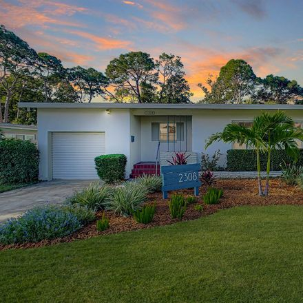 Rent this 2 bed apartment on 2308 Fairway Avenue South in Saint Petersburg, FL 33712