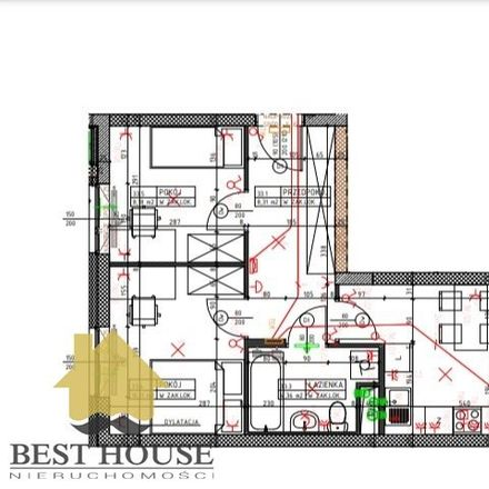 Rent this 2 bed apartment on Wacława i Zofii Nałkowskich 106 in 20-470 Lublin, Poland