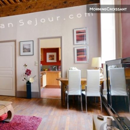 Rent this 2 bed apartment on Lyon in AUVERGNE-RHÔNE-ALPES, FR